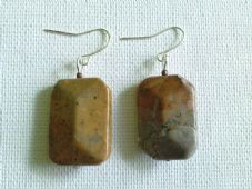 Landscape Jasper earrings